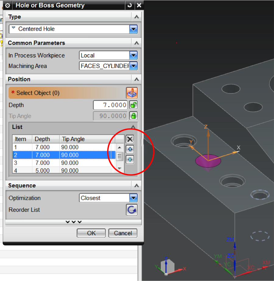 Tips & Tricks: Create Single Spot Drill Operation for Multiple Sets of Holes in NX 9