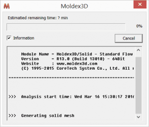 Moldex3D Analyze now