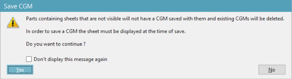 Save CGM