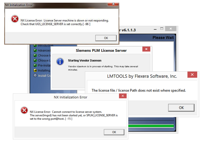 Serving NX FLEXlm Licenses Through a Firewall