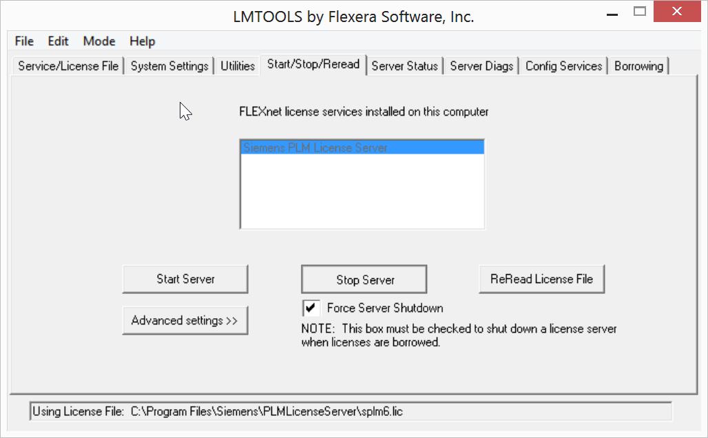Serving NX FLEXlm Licenses Through a Firewall - Swoosh