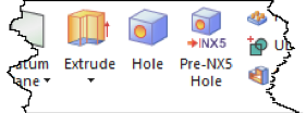Hole Command Feature Group NX